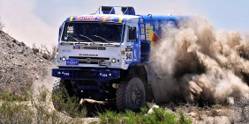 KAMAZ na Dakar reliju 2014. i sa Liebherr motorima