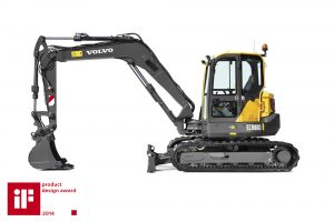 Volvo CE ECR88D iF design awards success