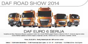 DAF-ov Road Show u Srbiji 28. marta