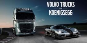Volvo FH u nadmetanju sa jednim od najbržih sportskih automobila u svetu