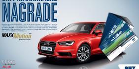 Audi A3 – nagrada za kupovine na OMV benzinskim stanicama