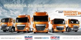 DAF-ov Road Show 27. marta u Srbiji