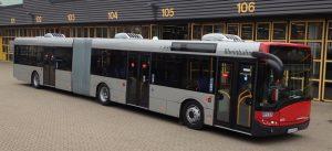 Citysphere klima uređaj na Solarisovom autobusu za Rheinbahn AG, Düsseldorf, Nemačka