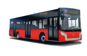 Ovako bi, u novoj boji, mogao da izgleda novi Ikarbusov autobus na Mercedesovom podvozju