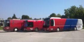 MAN i Neoplan autobusi za besplatan prevoz đaka u Baču i okolini