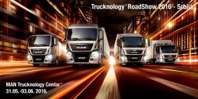 MAN Trucknology® RoadShow 2016 u Krnješevcima od 31. maja do 3. juna
